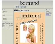 Bild Webseite Bertrand Kurt Friseur Aachen
