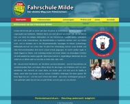 Bild Webseite Milde Astrid Fahrschule Berlin