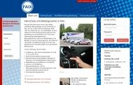 Bild Webseite Faix Köln
