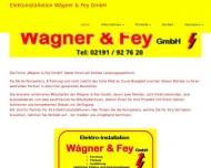 Bild WAGNER & FEY GMBH Elektroinstallation