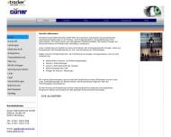 Bild Webseite Elektro Güner Nürnberg