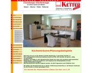 Website Miele-Spezial-Vertragshändler H.