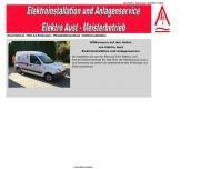Bild Webseite Aust Andreas Elektromeister Dresden