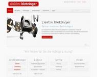 Bild Elektro - Bletzinger - Bletzinger Bernd , Antje