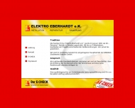 Website Elektro-Eberhardt