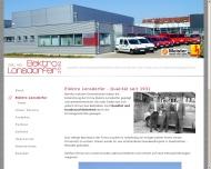 Website Beleuchtungsanlagen Elektro Lonsdorfer