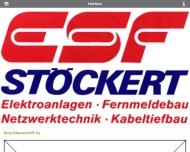 Bild Webseite Elektro-Stöckert-Fernmeldebau München