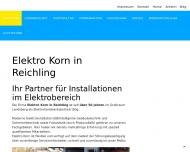 Elektro Korn - Elektro Korn in Reichling