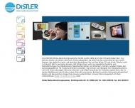 Bild Webseite DISTLER Media-Abrechnungssysteme Köln