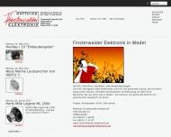 Bild Webseite Matthias Finsterwalder Elektronik Wedel