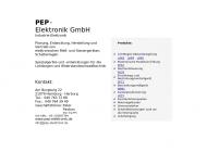 Bild PEP - Elektronik GmbH
