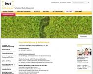 Website Technische Werke Schussental