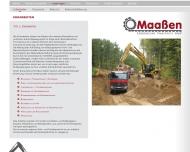 Bild Maassen Erdbewegungen u. Transporte GmbH