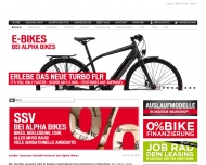Website Alpha Bikes