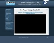 Website Weigel Anlagenbau