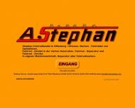 Website Stephan Andrea Fahrradgeschäft