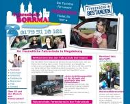 Bild Webseite Fahrschule Borrmann Magdeburg