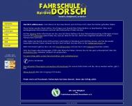 Bild Webseite Dorsch Fahrschule Köln