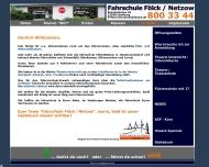 Bild Webseite Fölck Fahrschule Hamburg