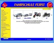 Bild Webseite Fahrschule Fürst Wolfgang Klotzsch Berlin