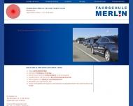 Bild Webseite Bodo Freiberg Fahrschule Merlin Berlin