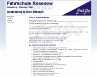 Bild Rosenow Fahrschule
