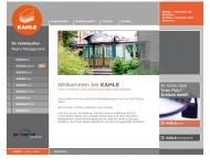 Bild Webseite Kahle analog + digital Nürnberg