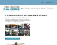 Bild Webseite Hoffmann Frank Tischlermeister Freital