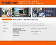 Bild Klatt + Co GmbH Fensterbau