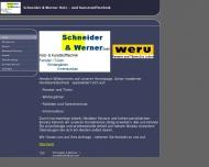 Bild Webseite Schneider + Werner Köln