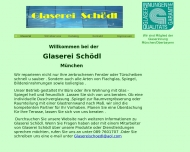Website Glaserei Schödl