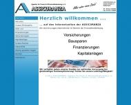 Bild Webseite Assicuranza Agentur für Finanz- & Wirtschaftsberatung Buch