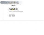 Bild Webseite Frequenta Wirtschaftsberatung Immobilien- und Finanzierungsvermittlung Berlin