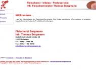 Website Borgmann Thomas Fleischermeister