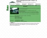Bild Webseite Wohnungsbaugenossenschaft Einheit-Annaberg eG Annaberg-Buchholz