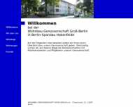 WOHNBAU-GENOSSENSCHAFT GROSS-BERLIN e.G