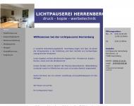 Website Lichtpauserei-Herrenberg