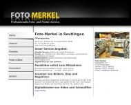 Bild Webseite Merkel Martin Reutlingen