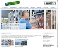 Bild Webseite Elektro-Technik Wirth Dischingen