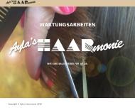 Bild Webseite Ayla's Haarmonie Ayla Köln