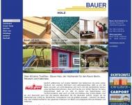 Bild Webseite bauer holz Berlin