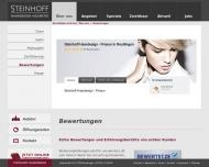 Website Steinhoff Haardesign