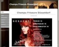 Bild Webseite Champu-Friseure Düsseldorf