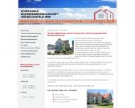kommunale wohnungsgesellschaft obereichsfeld heilbad heiligenstadt bau und. Black Bedroom Furniture Sets. Home Design Ideas