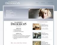 Bild Webseite Diederichs Düsseldorf