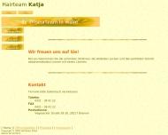 Bild Webseite Hairteam Katja Friseur Bremen