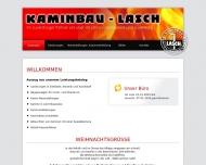 Bild Webseite Friedrich Lasch Kaminbau, Inhaber Holger Kreß Rheinau