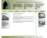 Bild Gemeinnützige Baugenossenschaft Eigenheim eG.
