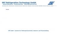 Bild ERT Refrigeration Technology GmbH Kältetechnik