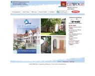 Website GEWOGE Duisburg eG Genossenschaft f. Wohn- u. Geschäftsbau